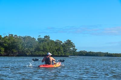 9AM Heart of Rookery Bay Kayak Tour - Hannan, Willick & Tevington