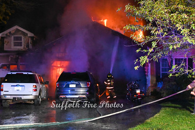 House Fire - Frontier Trail, Manorville, NY - 5/16/21