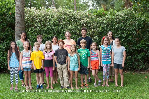 MHOK Upper Ele/Middle School Photo 2013 - 2014