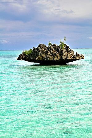 L'île aux Bénitiers en Catamaran