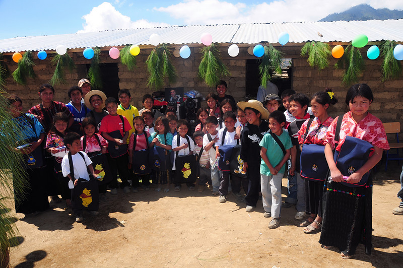 Dedication of the Sam Clarke School in Panimaquim and trip to Santa Catarina Ixtahuacan