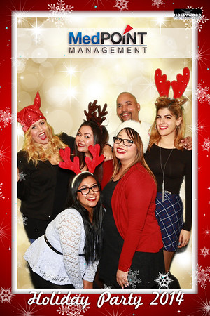 MedPOINT Management Holiday Party 2014 - 12/18/2014