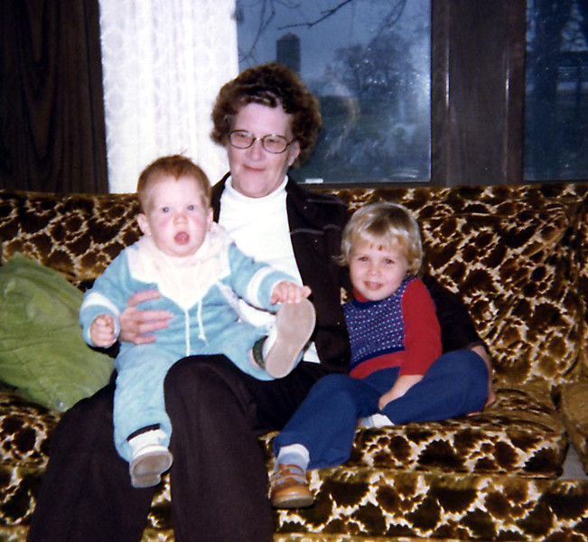 Great Grandma Herdrich with John & Elissa Phillips