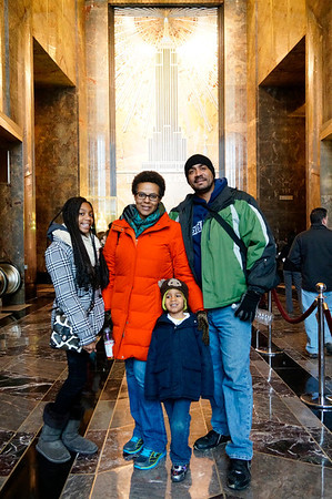 Adrian's 4th Birthday at Empire State Building