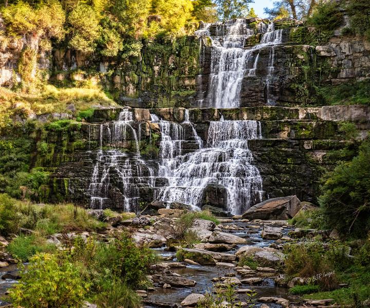 Chittenago Falls in Chittenago State Park