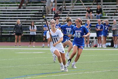 Girls Varsity Lacrosse 6/1 vs Natick