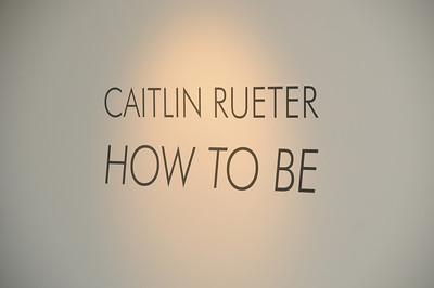 Caitlin Rueter's opening June 8, 2012