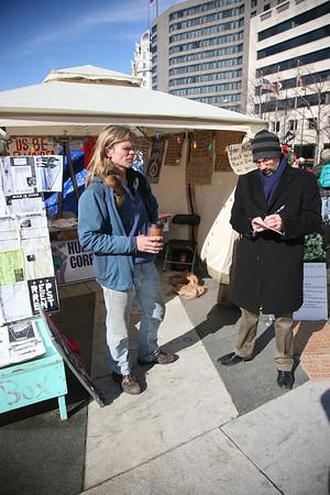 Freedom Plaza January 30, 2012