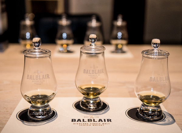 Balblair Whiskey evening
