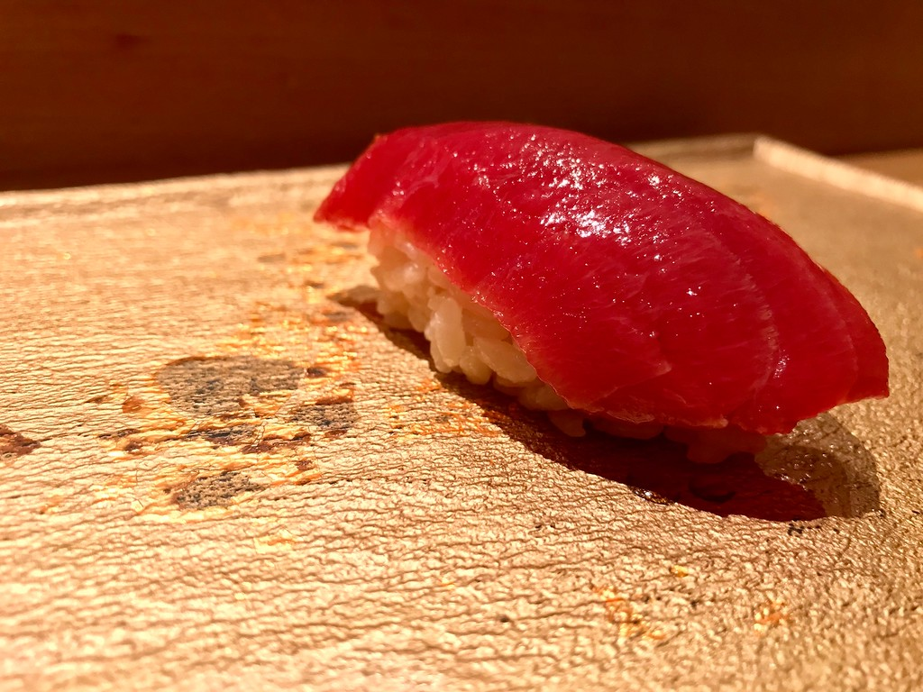 Toro, or fatty tuna.