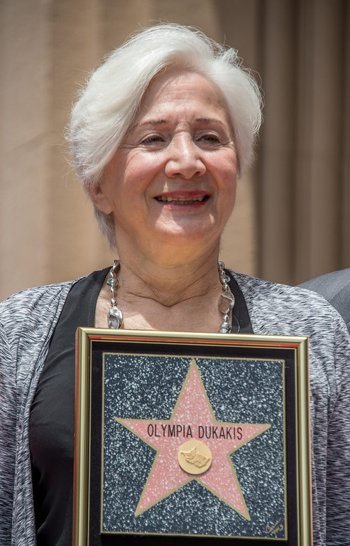 . Actress Olympia Dukakis is honored with the 2,498th Star on The Hollywood Walk Of Fame on May 24, 2013 in Hollywood, California.   (JOE KLAMAR/AFP/Getty Images)