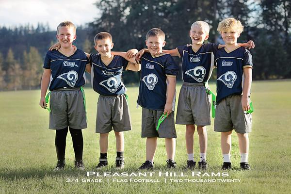 PH Rams Flag Football 3/4 2020