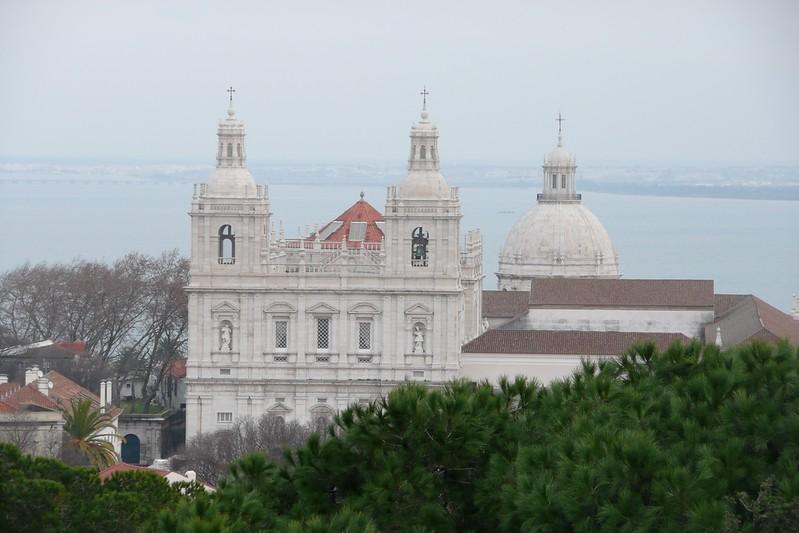 View from Castelo de São Jorge. Alfama, Lisbon