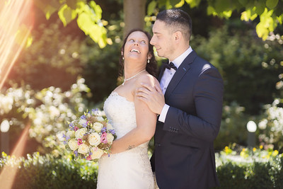 Huwelijk Bart & Jessica