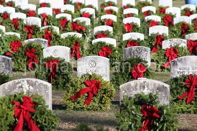 Dennis Buden Public Relations - Wreaths Across America - December 12, 2004