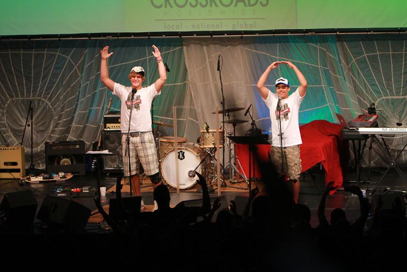 Crossroads Worldwide on the campus of Gardner-Webb University; July 2011.