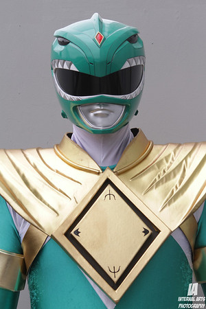 Slowfinger as Green Ranger