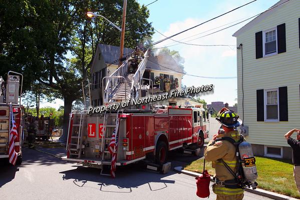 Providence- 2nd Alarm- Bradley Street- 7/27/16