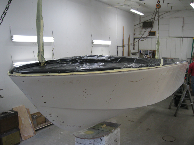 Port front view ready for primer.