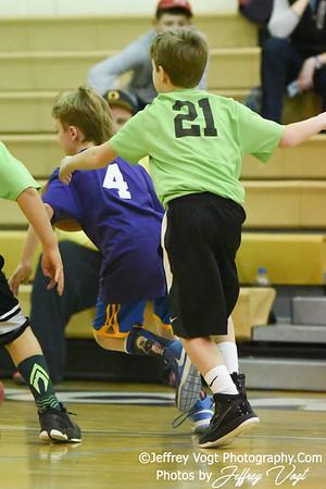 02/11/2017 4th Grade Boys Basketball Coach Mann, Photos by Jeffrey Vogt Photography