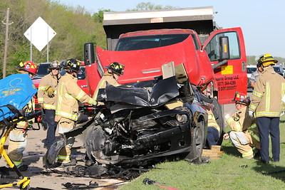 McKinney TX. Multi vehicle extrication MVA, Hwy. 380 4/10/19