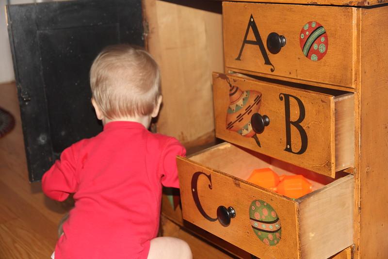 Elliot's toy chest
