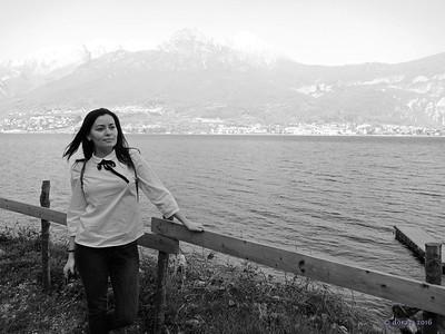 2016-03 Italia, gita a Bellagio con Alena