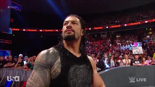 Roman Reigns - Raw Screencaps (June 3, 2019)