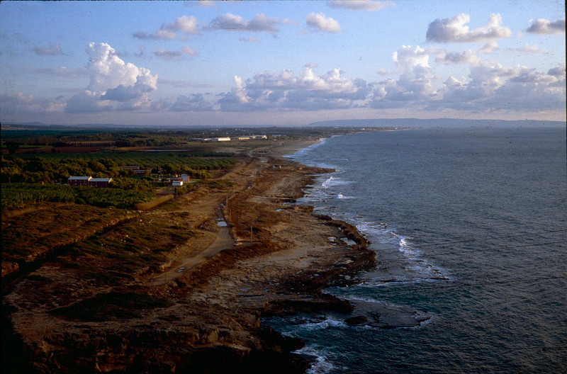 Northern Israeli coast