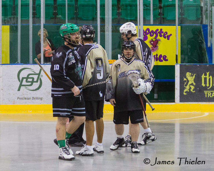 Game, June 03, 2012 Okotoks Sr B Raiders vs Spruce Grove Sr B Slash