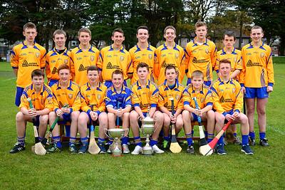 Na Fianna U15 Hurling Double Winners