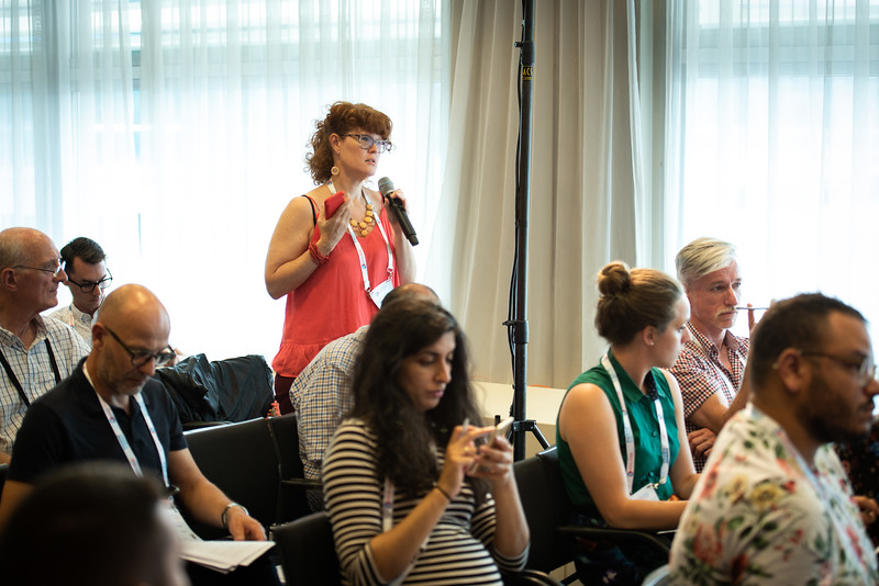 22nd International AIDS Conference (AIDS 2018) Amsterdam, Netherlands.   Copyright: Steve Forrest/Workers' Photos/ IAS  Photo shows: The Criminalization of HIV JIAS Press Conference.
