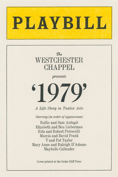 Cover, 1979, Cedar Cliff Press