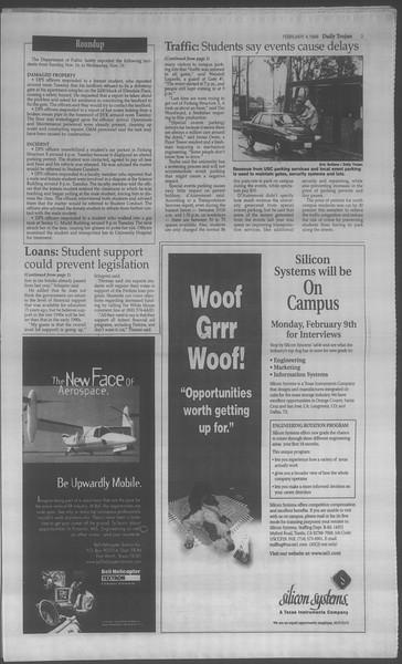 Daily Trojan, Vol. 133, No. 18, February 04, 1998