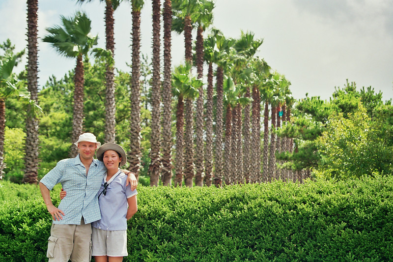 2001 Mi Jung Rick near Kumi bada on Jeju Island Korea.jpg