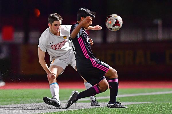 Cathedral vs CCA Soccer, 1-23-18