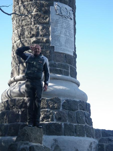 Capt Scott's monument - Port Chalmers