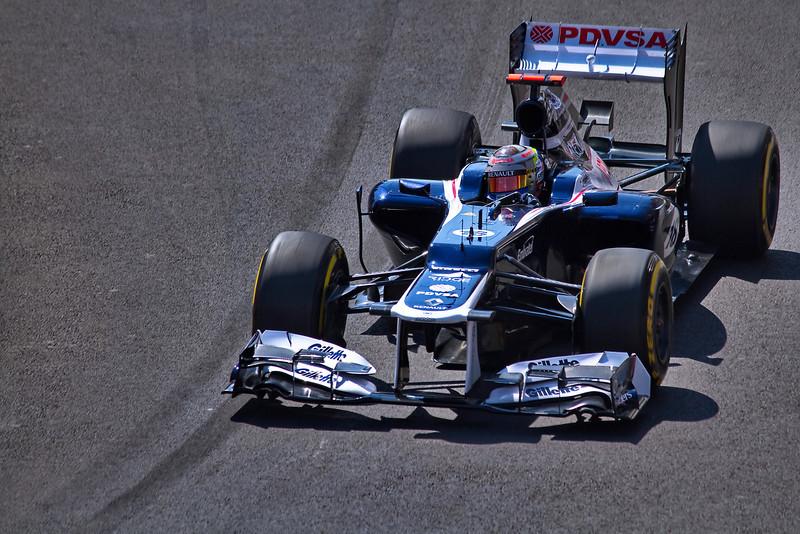 Pastor Maldonado (Venezuela) - GP Monaco Formula 1, 2012