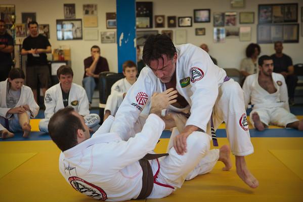 April Brown Belt Test