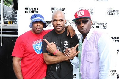 The Rock Steady Crew 36th Anniversary Concert - Summerstage @ Central Park NYC 7/28/13,  Pete Rock & C.L. Smooth & many more, Hosts: EOW