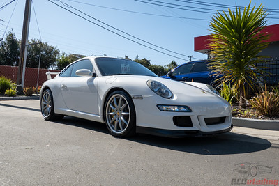 Porsche 997 - White - Front End PPF