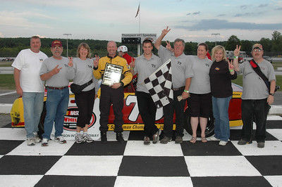 Thompson Speedway Victory Lane 6-21-2007
