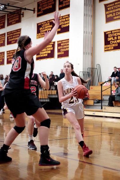 Mount Greylock vs Lenox Girls Basketball