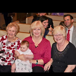 2017 09 Gatsby's Baptism for Carol, Diane & MJ