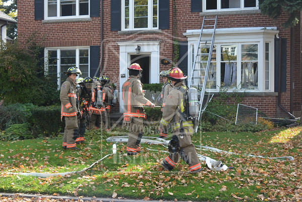 October 27, 2014 - Working Fire - 194 Coldstream Ave.