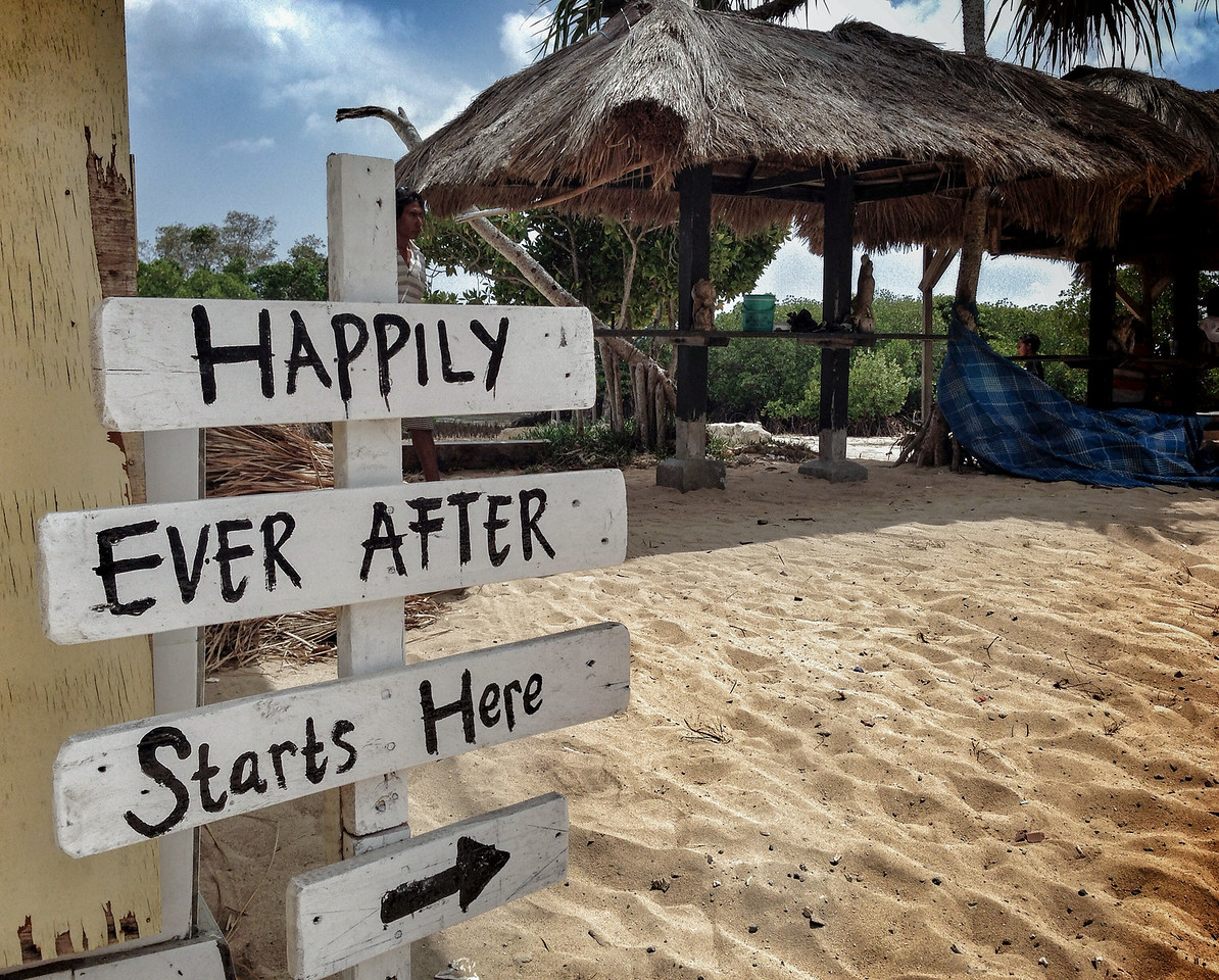 Happily Ever After in Bali, Indonesia