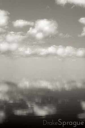 Cloudy Reflections - Lake Okeechobee, Florida, 2008