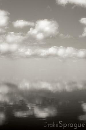 Cloudy Reflections - Lake Okeechobee, Florida, 2008