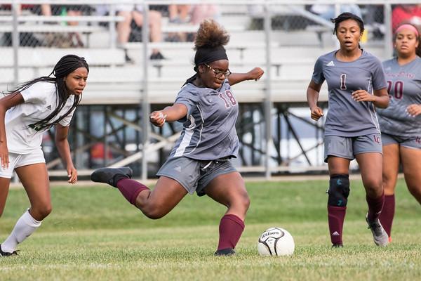 Lady Bears JV Soccer vs LN