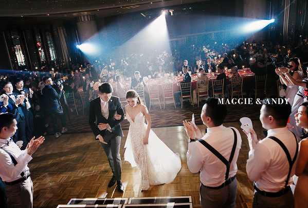 Wedding Day - Maggie and Andy (Grand Hyatt Ballroom)